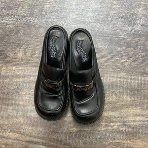 Sketchers Black Clogs Size 7